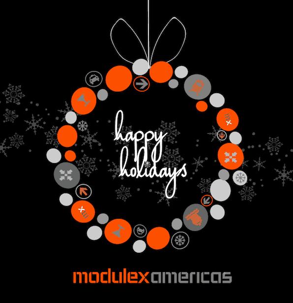 Happy Holidays from Modulex Americas