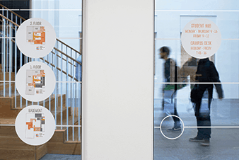 Copenhagen Business School graduate House Wayfinding