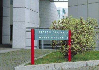 Compass Exterior Signage
