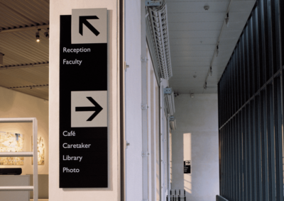 Infinity Classic Interior Signage
