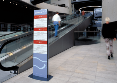 Messenger Interior Signage