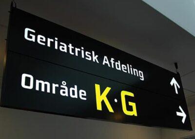 Via Interior Signage