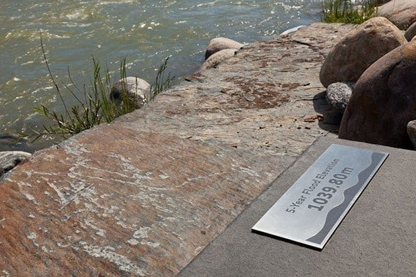 Calgary River Walk Signage