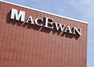 Dimensional Lettering MacEwan University