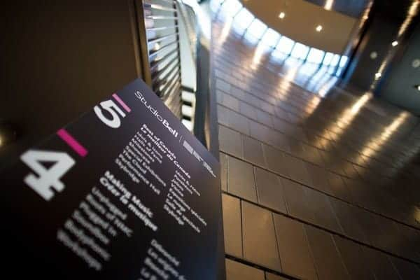 National Music Centre Signage