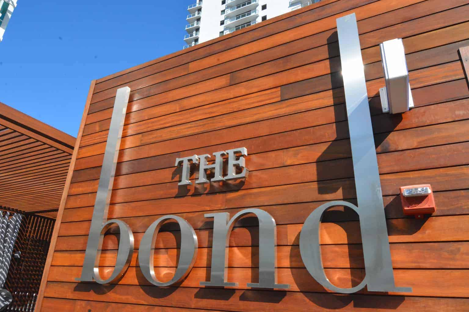 The Bond Outdoor Signage