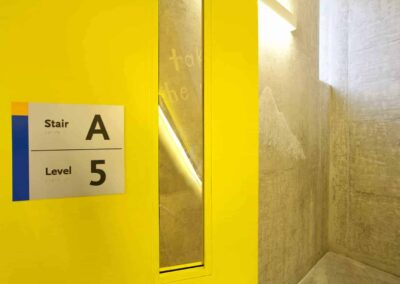 Ryerson Student Learning Centre Stairwell Entrance