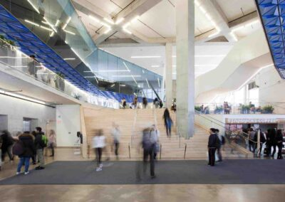 Ryerson Student Learning Centre interior