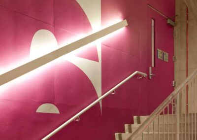Ryerson Student Learning Centre Stairwell Graphics