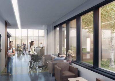 Milton Hospital Interior Plenary Group