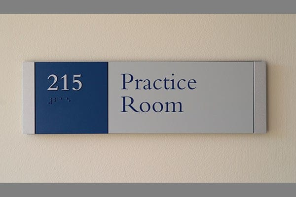 Middlebury College Signage