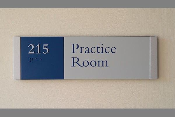 Middlebury College Signage