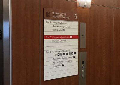 Norwalk Hospital Signage