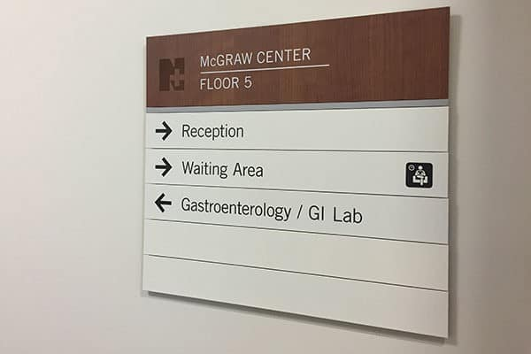 Norwalk Hospital Signage