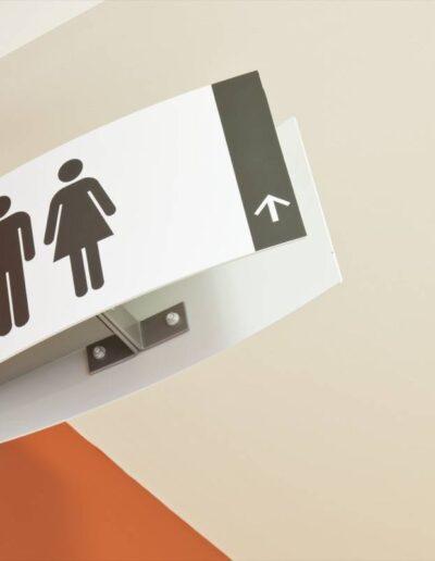 University of Alberta WC Signage Modulex