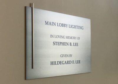 L+M Cancer Center Signage