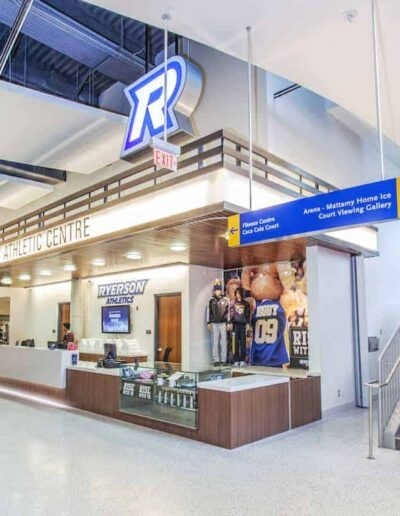 Ryerson University + Modulex Americas Signage