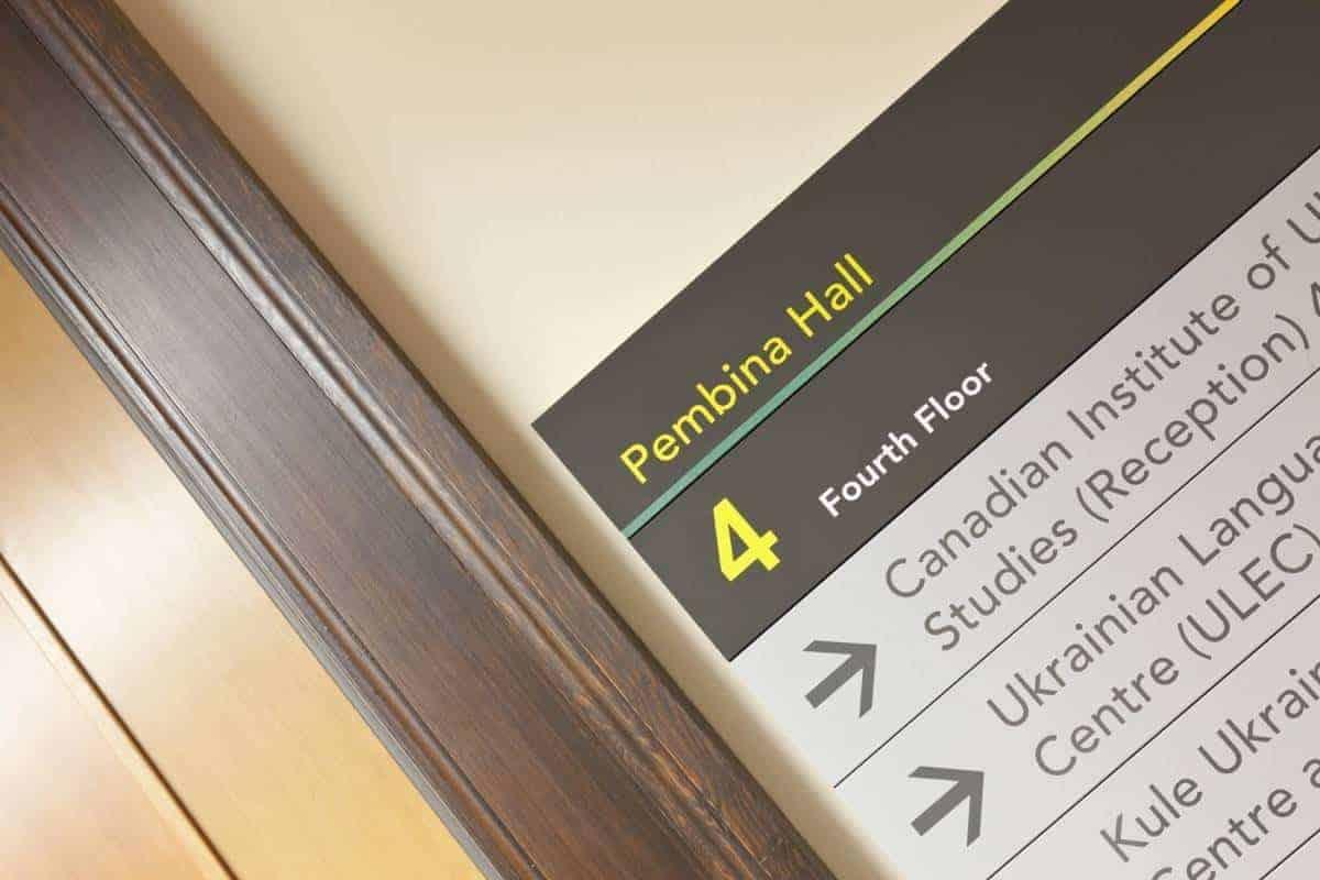 University of Alberta Signage Modulex