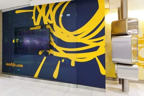Sun Life Environmental Graphics