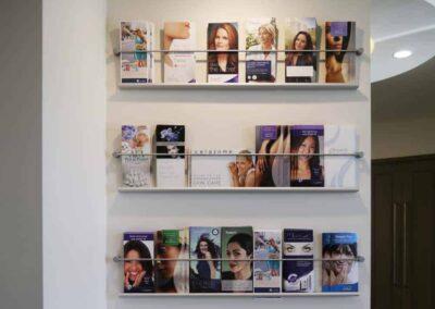 Brochure Holders Installed