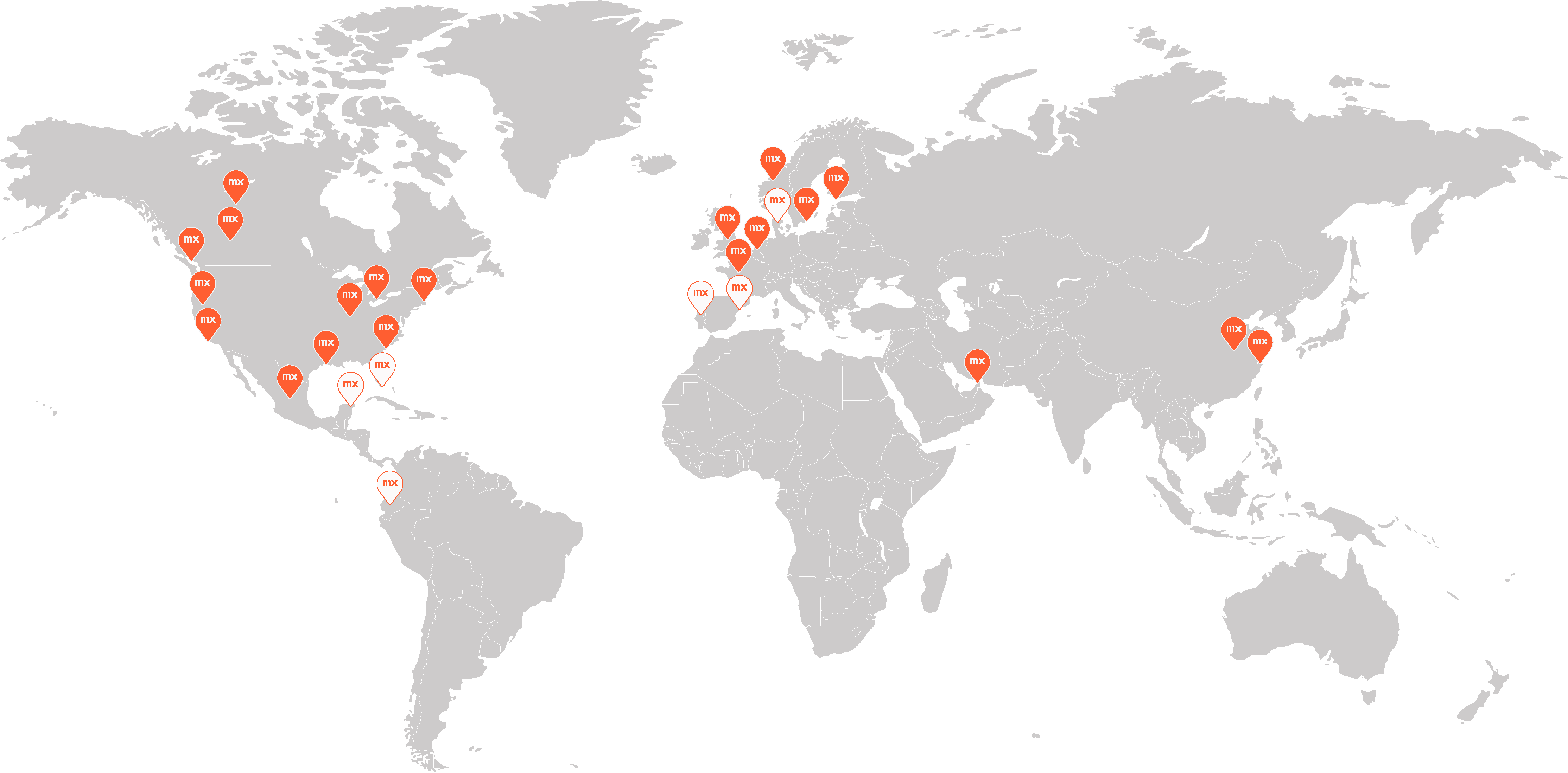 hospitality map