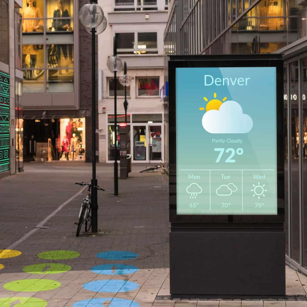 digital signage product