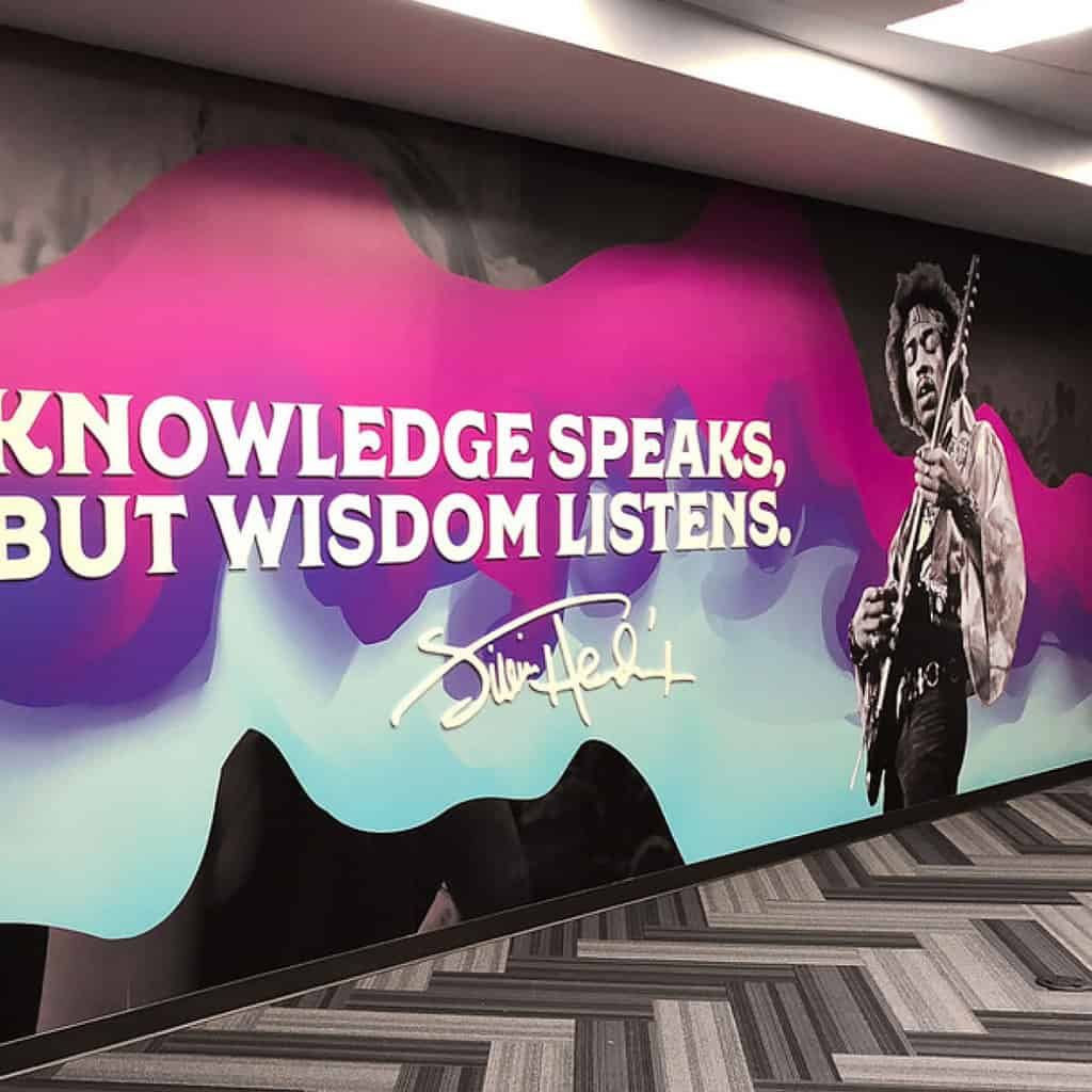 wall graphics product
