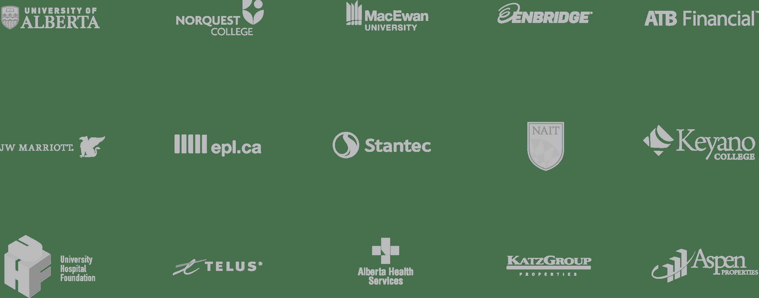 Alberta Logos Clients