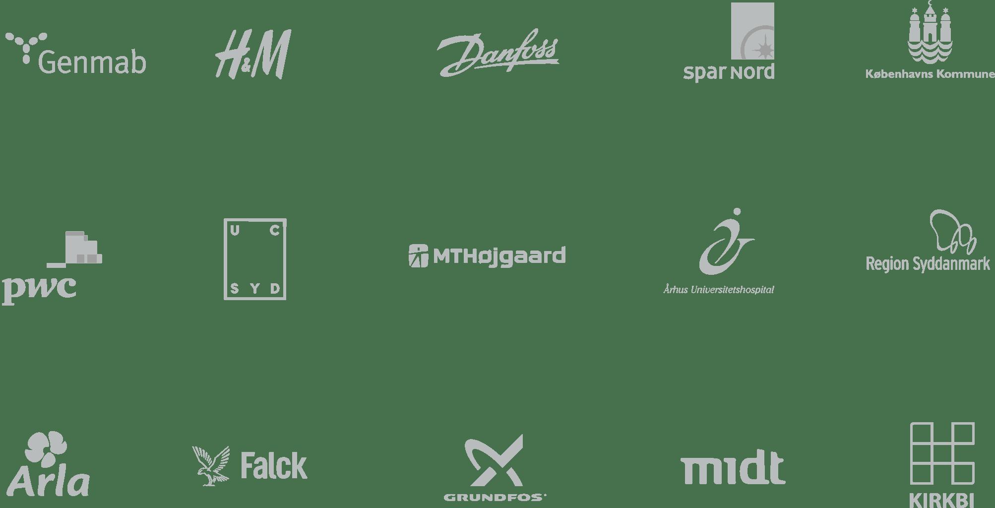 Denmark Logos Clients