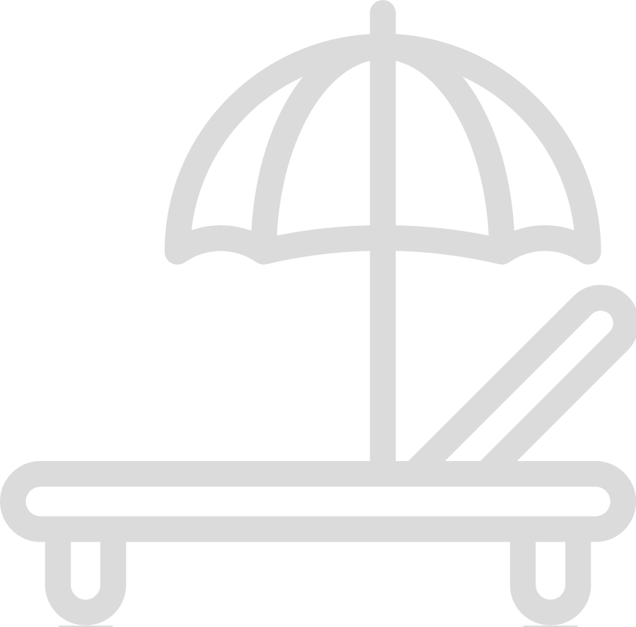 Hospitality Sector Icons Transparent