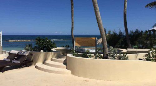Melia Braco beach view signage