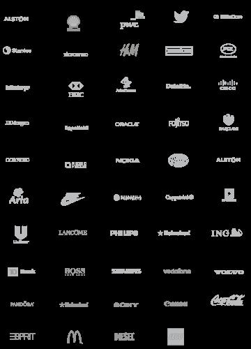 Modulex Corporate Client Logos Portfolio