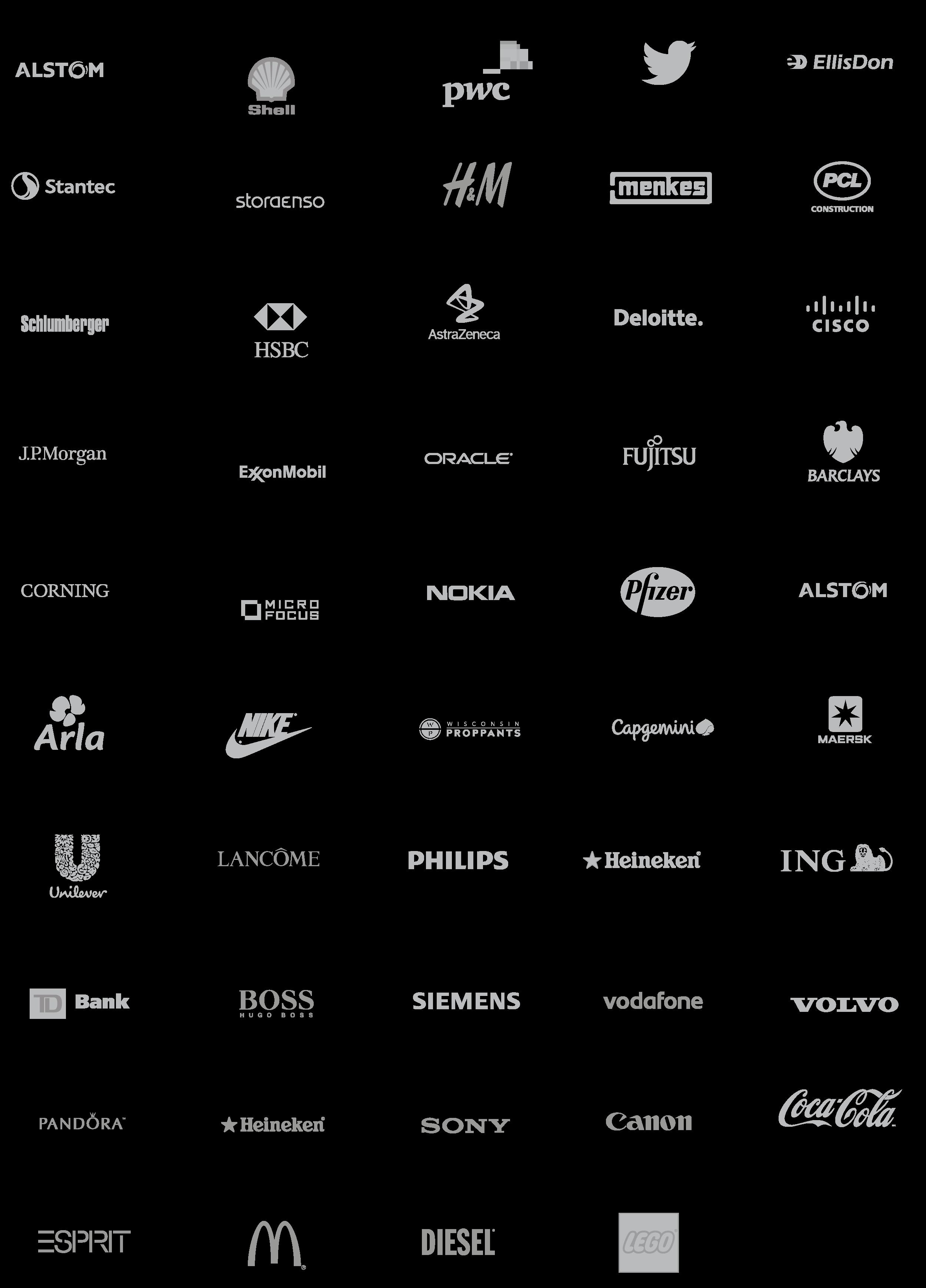 Modulex Corporate Client Logos