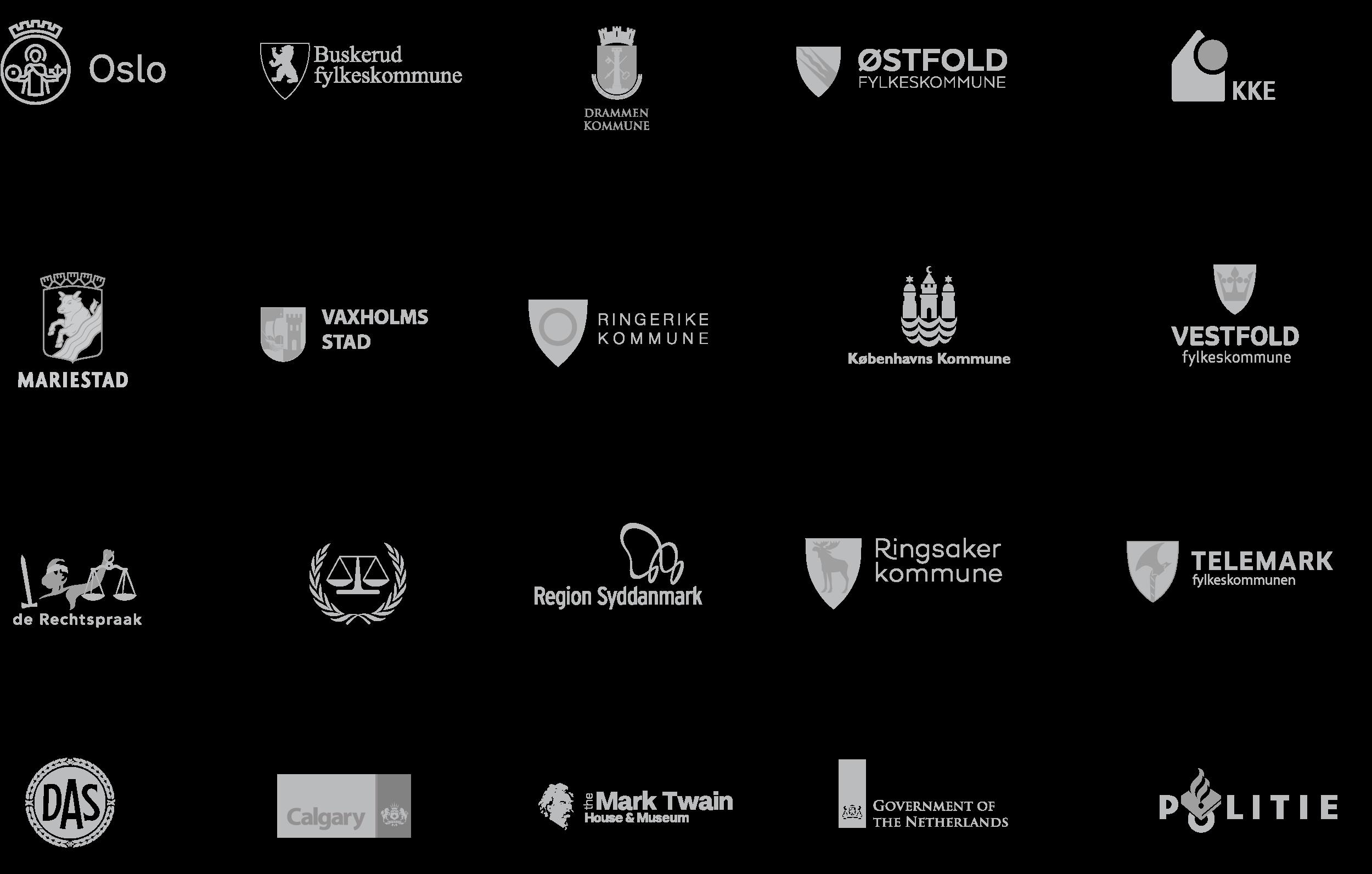 Modulex Government Client Logos